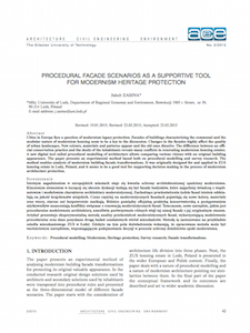 <a href='https://www.researchgate.net/publication/279980883_Procedural_Facade_Scenarios_as_a_Supportive_Tool_for_Modernism_Heritage_Protection'>Procedural facade scenarios asasupportive tool for modernism heritage protection</a>