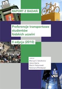 <a href='https://www.researchgate.net/publication/272620861_Raport_z_badan_Preferencje_transportowe_studentow_lodzkich_uczelni_II_edycja_2010'>RAPORT ZBADAŃ. Preferencje transportowe studentów łódzkich uczelni. II edycja (2010)</a>