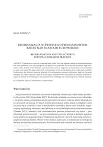 <a href='http://www.studiamiejskie.uni.opole.pl/wp-content/uploads/2016/05/S_Miejskie_20_2015-Zasina.pdf'>Reurbanizacja w świetle dotychczasowych badań nadmiastamieuropejskimi</a>
