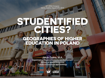 Studentified Cities? Geographies of Higher Education in Poland