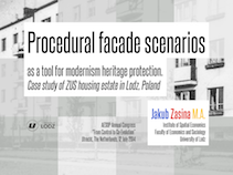 Procedural facade scenarios as a tool for modernism heritage protection. 